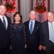 Texas Heart Institute dinner, Feb. 2016, William McReaven, Janiece Longoria, Steve Lasher, Dr. James Willerson