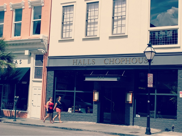 halls chophouse, charleston