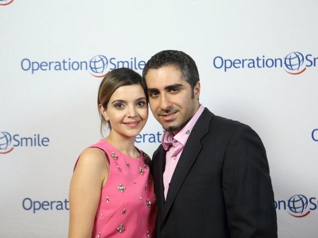 Operation Smile Gala 2015 Layla Asgari and Laith Mahmood
