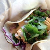 Ripe Market Café avocado taco
