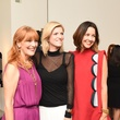 Gracie Cavnar, Lucy Sykes and Carrie Colbert at Recipe for Success Dress for Dinner event