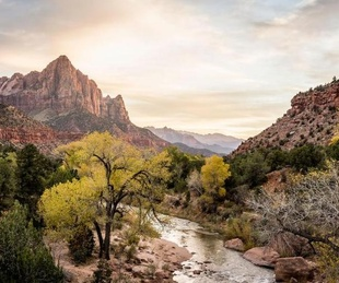 best fall travel destinations per National Geographic, September 2017, Zion National Park Utah
