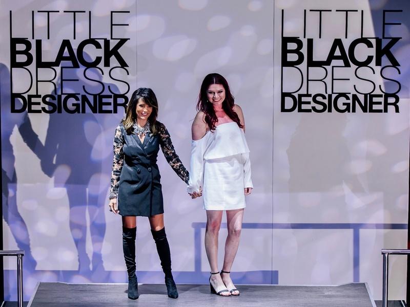 Diane Caplan, Blanca Vargas at Little Black Dress Designer 2017