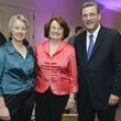 8 Greater Houston Partnership Gala August 2013 Mayor Anise Parker, Cathy Hubbard, Bob Harvey