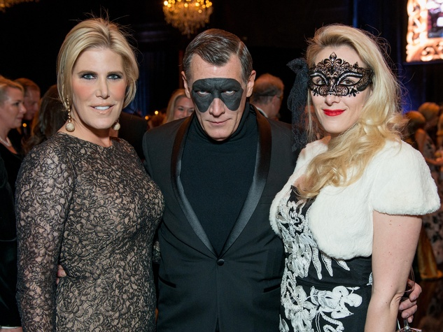 31 Courtney Hopson, Neil Hamil and Christy Sullivan at the Houston Ballet Ball February 2015