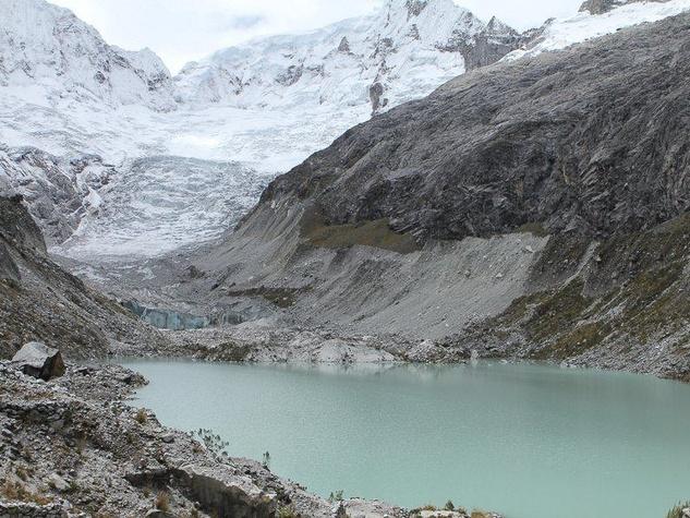 Mondo Cinema, Greedy Lying Bastards, Glacier in Yaca, Peru, 2010