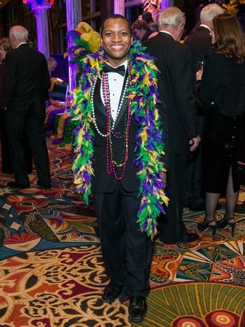 18 Tyrone Willis at the St. Thomas Mardi Gras Gala February 2015