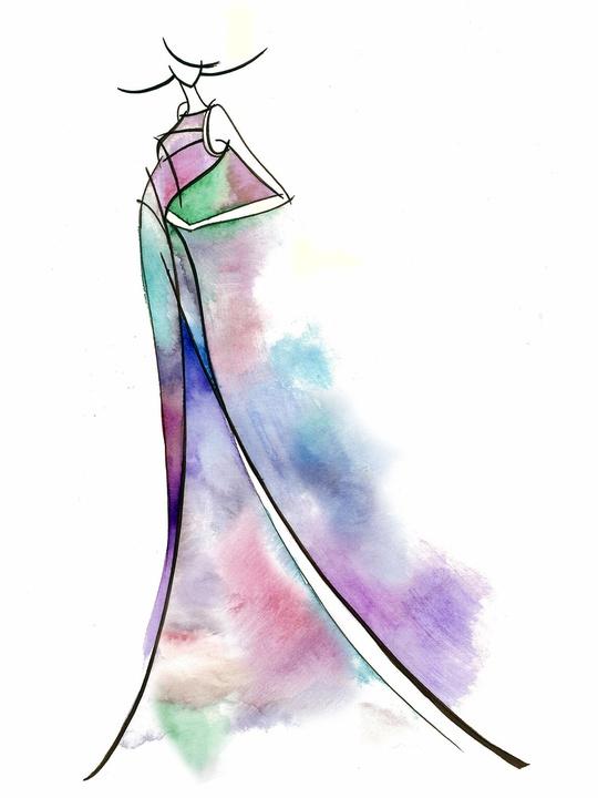 Fashion Week fall 2013, sketches, January 2013, Son Jung Wan