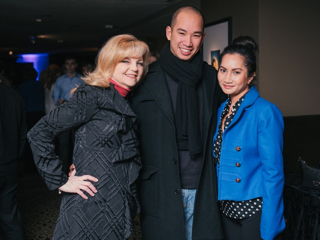 001, Mixers on the Map, Hotel ZaZa, January 2013, Kim Padgett, David Nguyen, Trang Lam