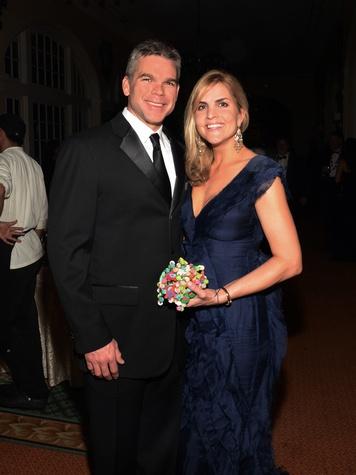 John Kirksey Jr. and Joanie McLeod at the Knights of Momus Coronation Ball February 2014