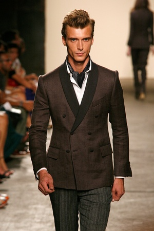 Billy Reid, spring 2013, dinner jacket