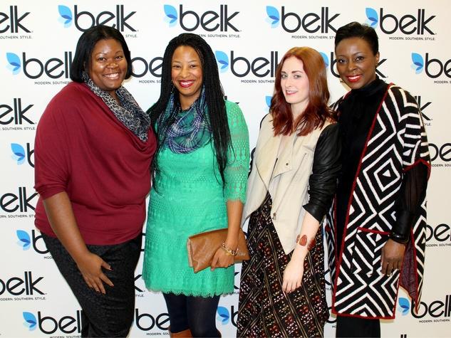 Leslie Chatman, Leah Frazier, Amber LaFrance, Charmaine Marshall (Belk), Spring Break Fashion Tour
