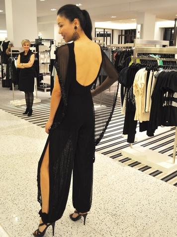 Suzanne Saperstein fashion December 2013 model 2