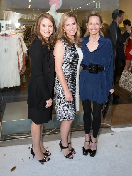 Caroline Nix, Janie Cooke, Lynn McBee, Planet Bardot grand opening
