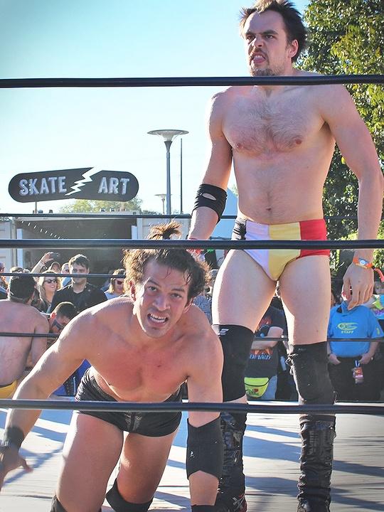 Fun Fun Fun Fest 2014 - Wrestling