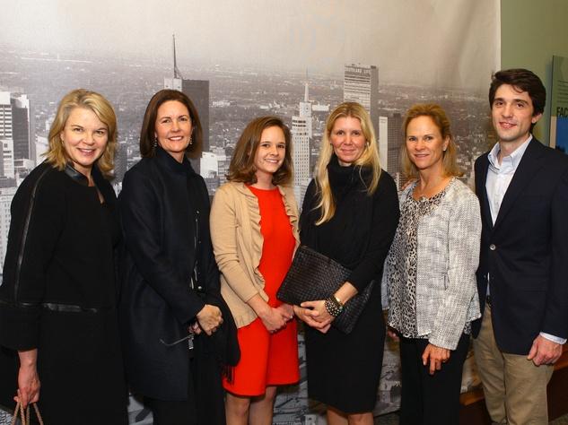 125 Jonsson family-Margaret Spellings, Petie Jonsson Lewis, Madeline Bailey, Holly Jonsson, Becky Yarborough, Henry Jonsson