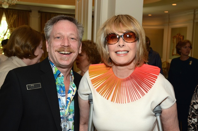 131 Edward McCartney and Barbara Paull at the Houston Center for Contemporary Craft spring luncheon May 2014