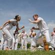 KAW Maculele Capoeira performs