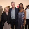 Barbara Davis, Joe Havel, Alecia Harris at Glassell Benefit 2017