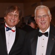 Richard Tapia, left, and Bruce Alberts at the Welch banquet October 2014
