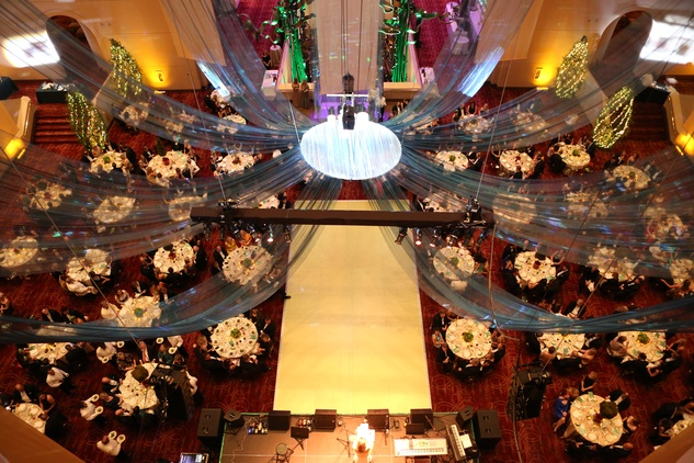 The venue and crowd at the Houston SPA Society for the Performing Arts Gala March 2015