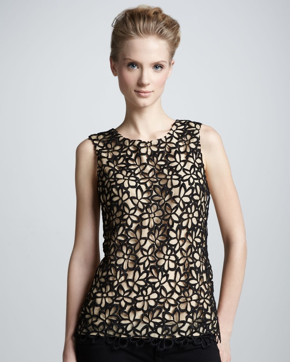 Lela Rose lace top from Neiman Marcus + Target Collection