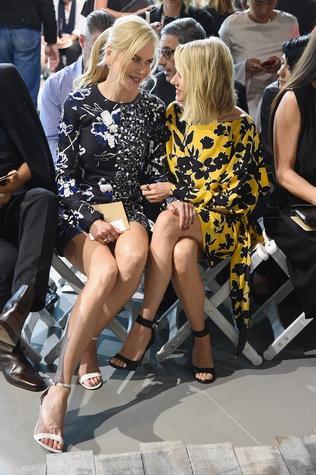 Nicole Kidman, Naomi Watts at Michael Kors show