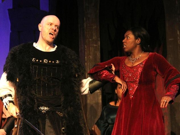 News_Opera in the Heights_Trovatore_March 2012_Andrew Cummings_Conte di Luna_Michelle Johnson_Leonora