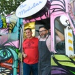 8 Paul Sedillo, left, and Josh Martinez at the CultureMap Social at Boheme September 2014