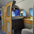 Emirates A380 in Houston December 2014 First Class Private Suite