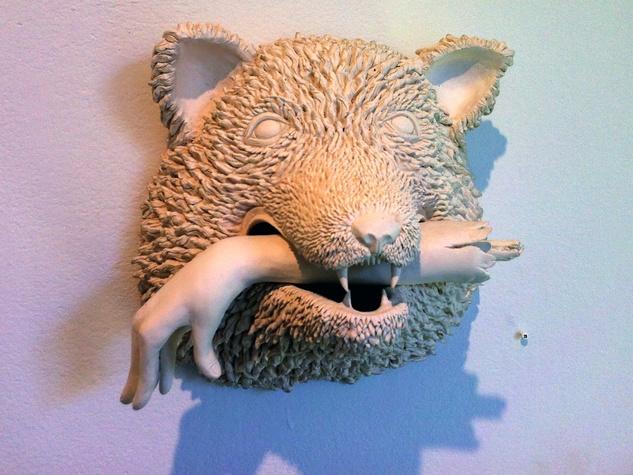 Mystery wolf ceramic, EAST