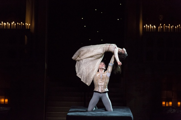 Houston Ballet Romeo and Juliet February 2015 Karina Gonzalez and Connor Walsh