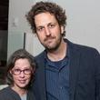 Karen Weiner, Brandon Kennedy, MAC kick off party