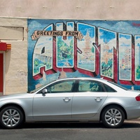 Silvercar Audi Greetings from Austin Startup 2016