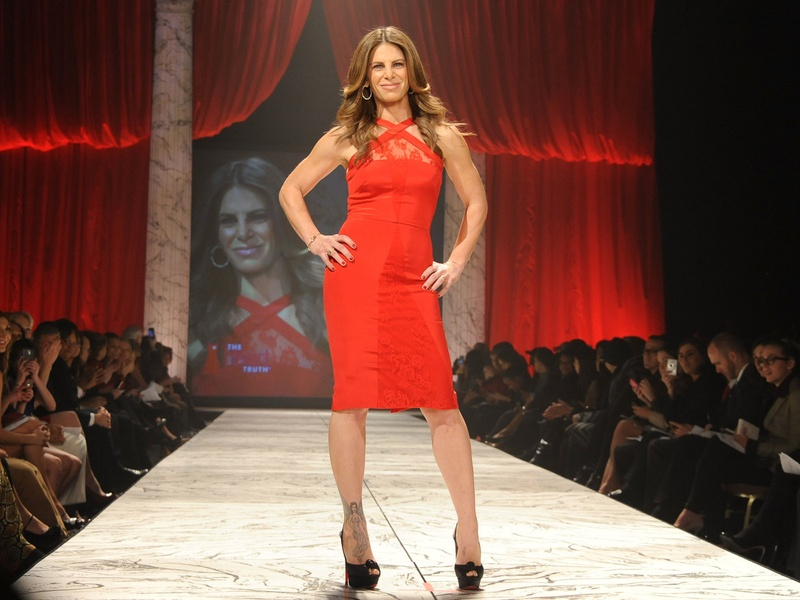 6, The Heart Truth 2013 Fashion Show, Jillian Michaels wearing Cushne et ochs