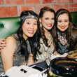 Yolanda Han, from left, Jenifer James and Selise James at New Year's Eve at Local Pour January 2015