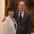 Leslie and Brad Bucher at MFAH Mexican Modernism dinner