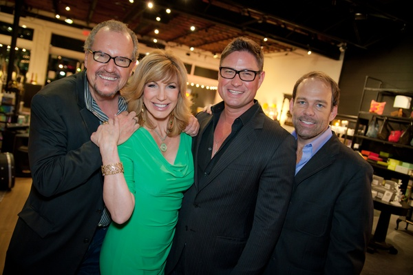 John McGill, Leeza Gibbons, Jay Billingsley, Mark Hopper