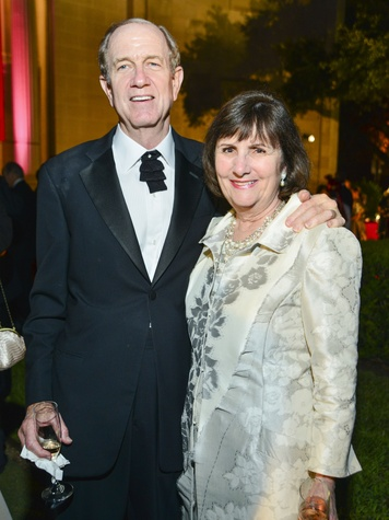 4  Brad and Leslie Bucher at the MFAH Grand Gala Ball October 2013