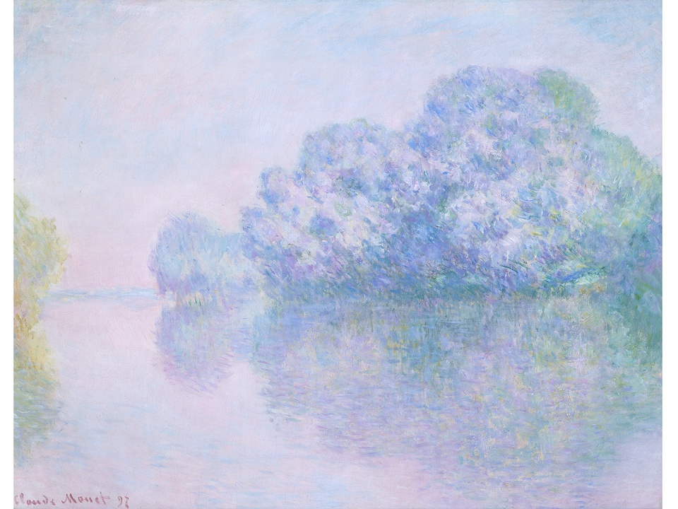 MFAH Monet and the Seine Impressions of a River October 2014 Claude Monet - The Seine at Giverny, L'Ile aux Orties