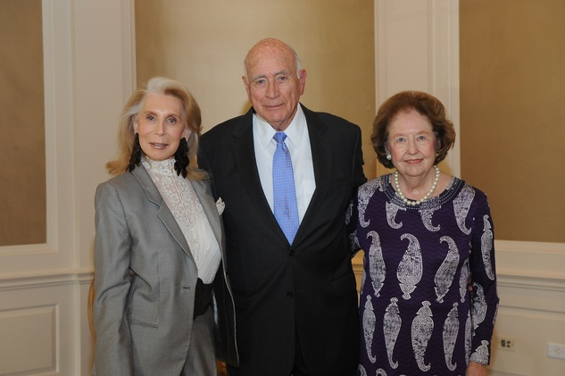 11 Joan Schnitzer Levy, from left, Truett Latimer and Harriet Latimer at the Assistance League luncheon October 2014