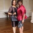 Phyllis Williams, Deion Dillard at Alzheimer's Association AWARE luncheon