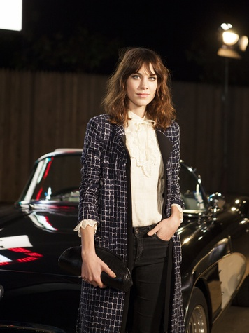 Alexa Chung at Chanel Metiers d'Art in Dallas