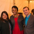 2150 50 Sunisha Choksi, from left, Jamie Larmond and Patrick Hanley at the Joiner holiday party December 2013