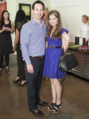 Jordan Hix, Shirin Rahmani, CultureMap Dallas Tastemaker Awards
