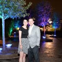 1 Georgina and Thad Armstrong at the Houston Zoo Ambassadors Gala February 2015