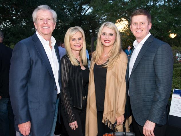 Houston, True Blue Gala, November 2017, Gregg and Jo Lynn Falgout, Christine and Bill Gutknecht