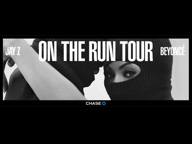 On the Run Tour Flyer