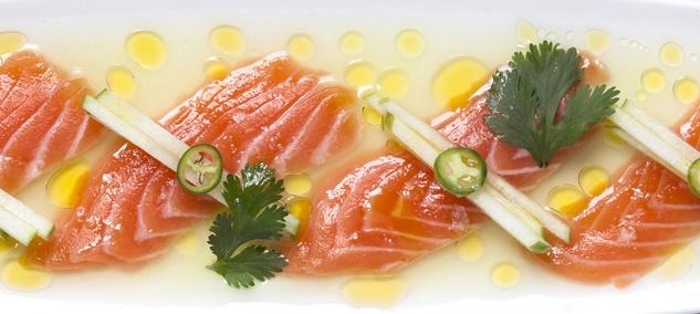 Pappasito's salmon ceviche