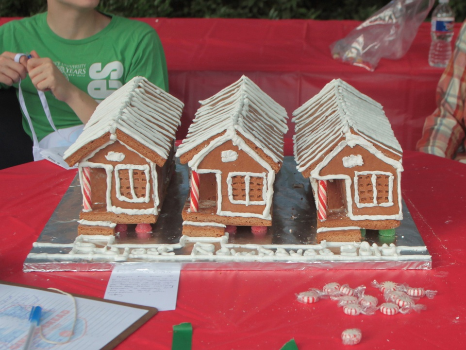 Architecture Center Houston and AIA Houston Gingerbread Build-off winners December 2014 2nd Runner Up